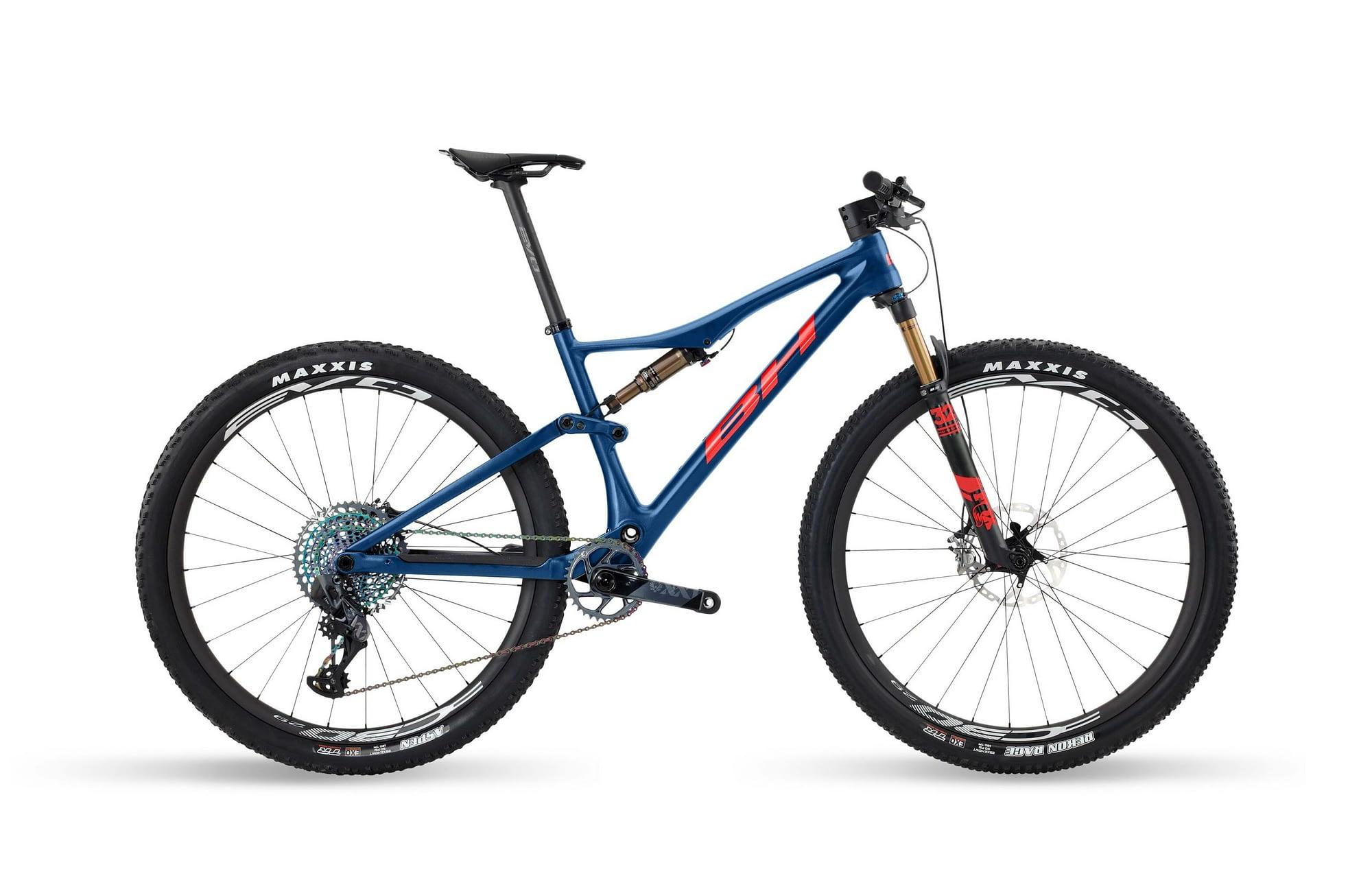 BH LYNX RACE EVO CARBON 9.9 - Rouge / Bleu, XL