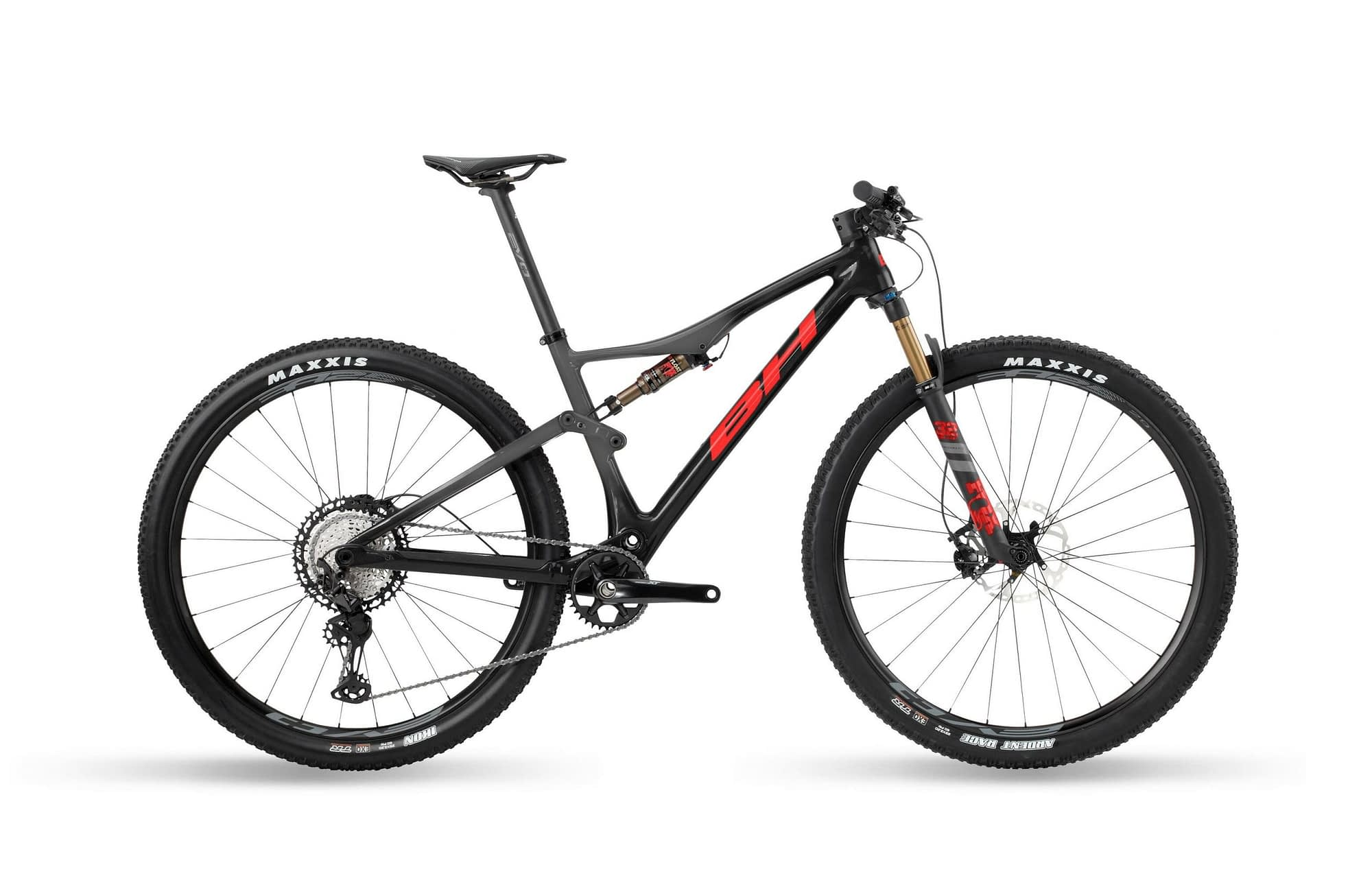 BH LYNX RACE EVO CARBON 8.5 - Anthracite / Rouge, XL