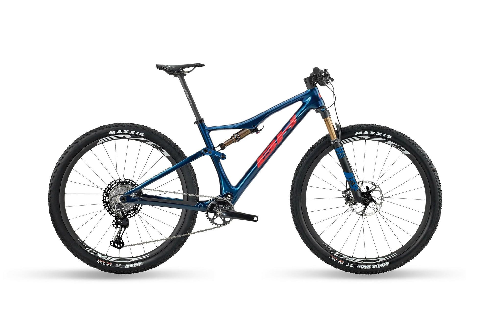BH LYNX RACE EVO CARBON 9.5 - Rouge / Bleu, XL