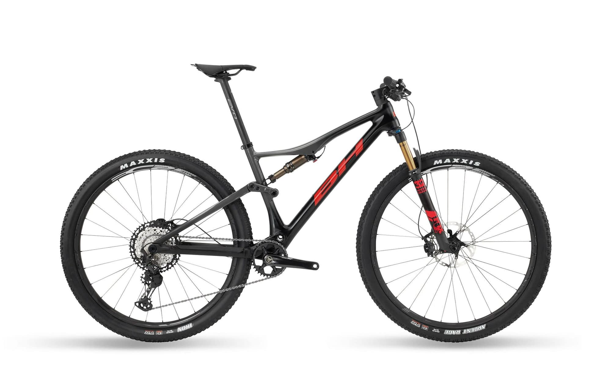 BH LYNX RACE EVO CARBON 9.2 - Anthracite / Rouge, XL