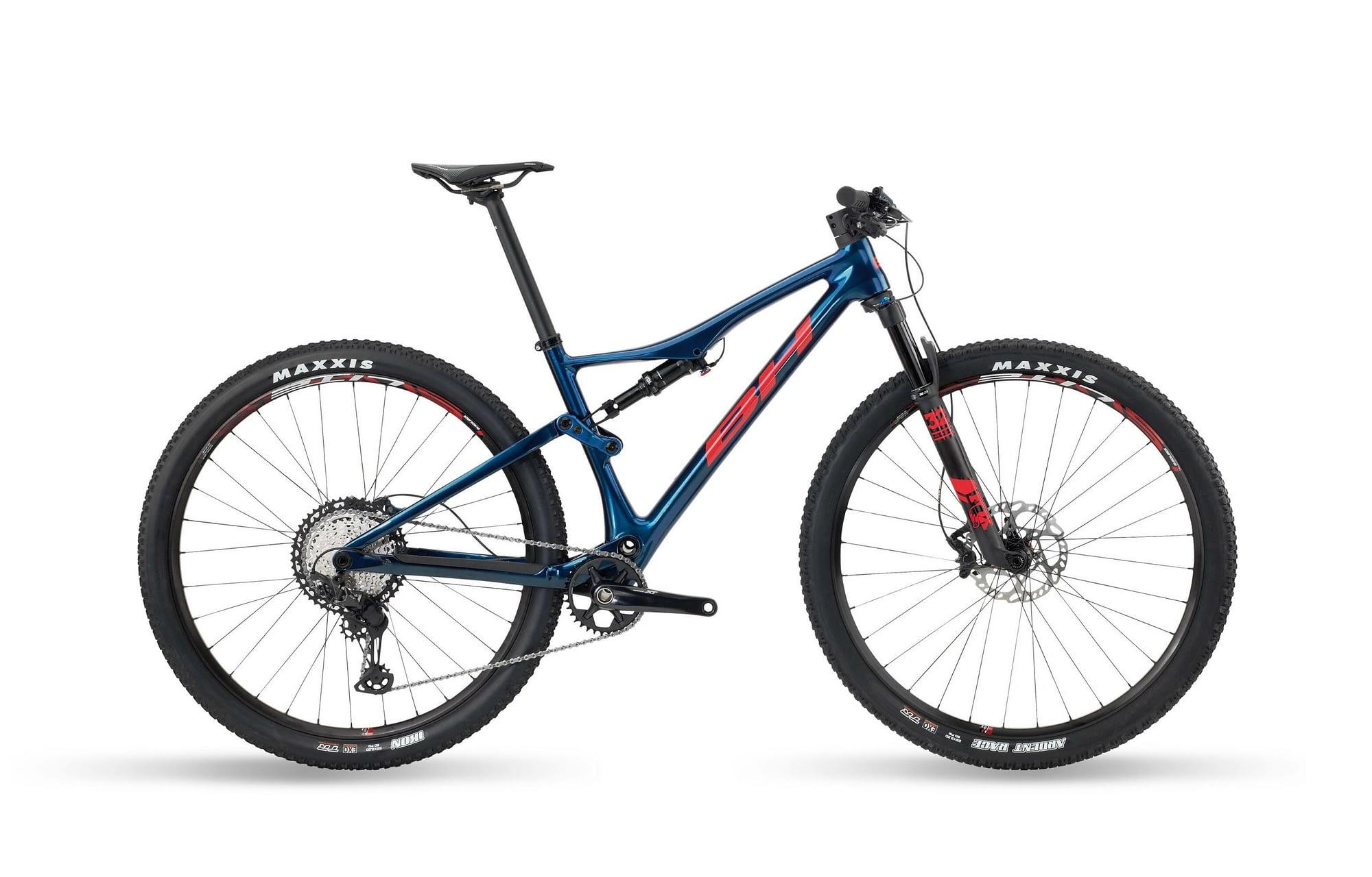 BH LYNX RACE EVO CARBON 8.0 - Rouge / Bleu, XL