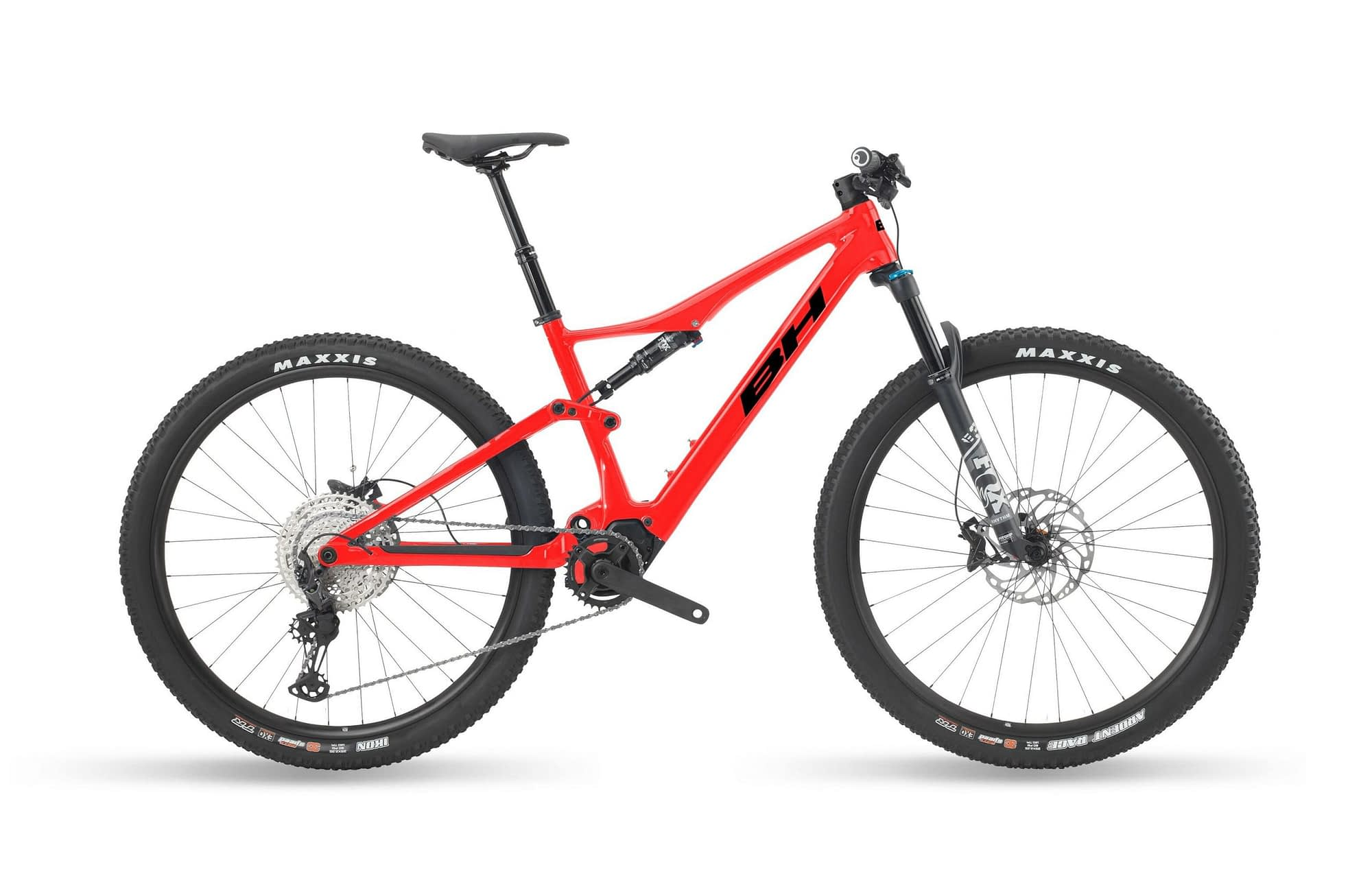 BH iLYNX RACE CARBON 8.0 LT - Noir / Rouge, L